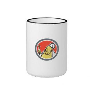 Fat Buddha Chef Cook Cartoon Coffee Mug