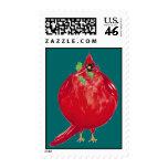 Fat Cardinal stamp