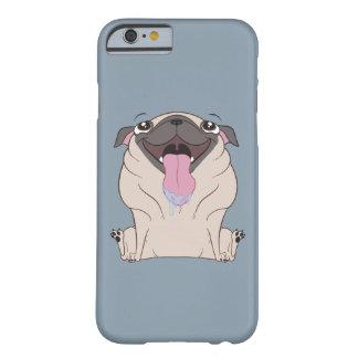 Fat Cartoon Pug Dog iPhone 6 Case