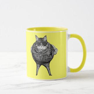 Fat Cat Banker Mug