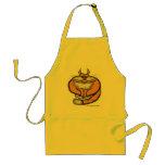 Fat cat funny apron design