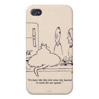 Fat Cat iPhone 4 Covers