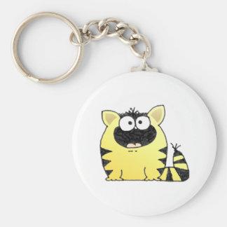 Fat Cat Keychain