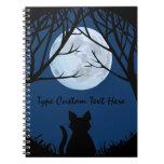 Fat Cat Notebook Personalized Cute Cat Notebook