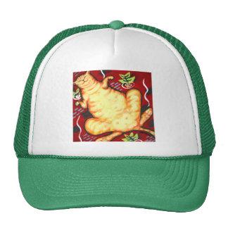 Fat Cat on a Cushion Trucker Hat