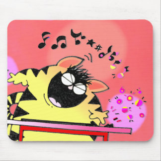 Fat Cat Play Keyboard Mouse Pad