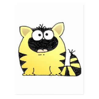 Fat Cat Postcard