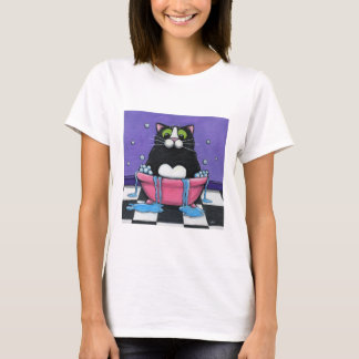Fat Cat Takes A Bath T-Shirt