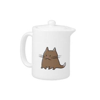 Fat Cat Teapot