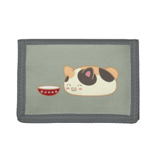 Fat Cat Tri-fold Wallet