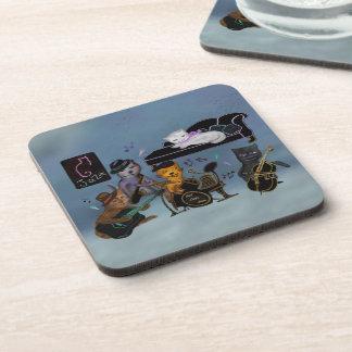 Fat Cats Jam Beverage Coaster