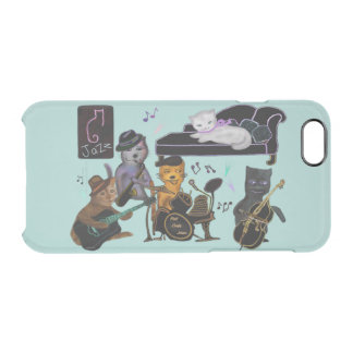 Fat Cats Jam Clear iPhone 6/6S Case