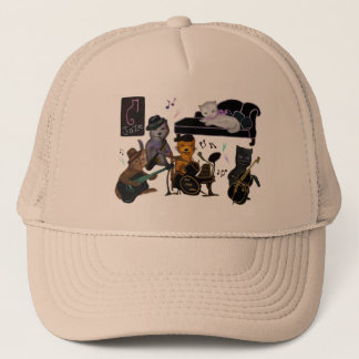 Fat Cats Jam Trucker Hat