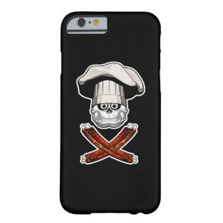 Fat Chef Skull v4 Barely There iPhone 6 Case