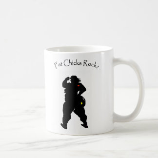 Fat Chicks Coffee Mug