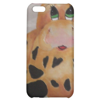 fat cow iPhone 5C cover