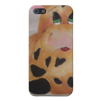 fat cow iPhone 5 cover