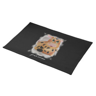 fat cow cloth place mat