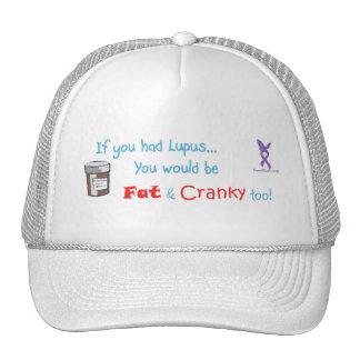 fat_crankyhat trucker hat