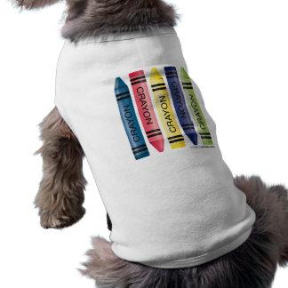Fat Crayons Pet T-shirt