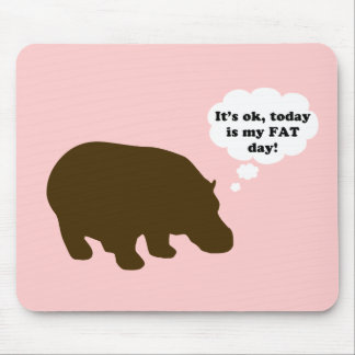 Fat Day Mouse Pad