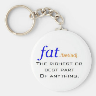 Fat - Defined Keychain