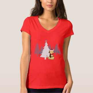Fat Dog Christmas fitted shirt