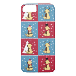 Fat Dog Christmas iPhone 7 case