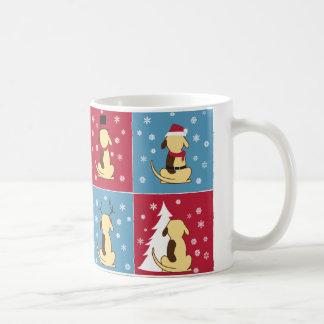 Fat Dog Christmas mug
