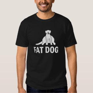 Fat Dog T-Shirt by Pleydey