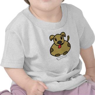 Fat Dog With Bone T-Shirt