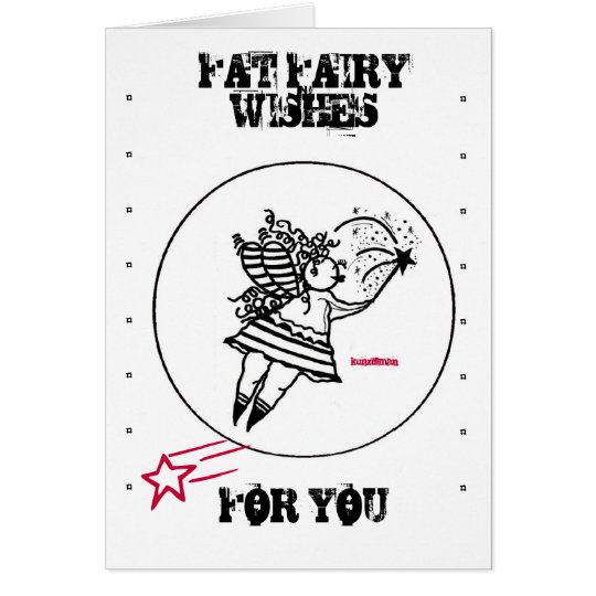 FAT FAIRY WISHES CARD