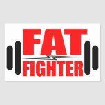 Fat Fighter Stickers