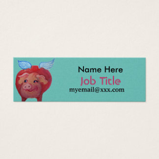 fat flying pig business card