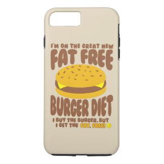 Fat Free Burger Diet iPhone 7 Plus Case