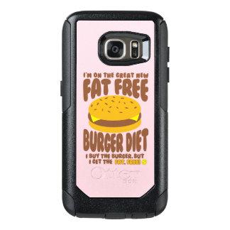 Fat Free Burger Diet OtterBox Samsung Galaxy S7 Case