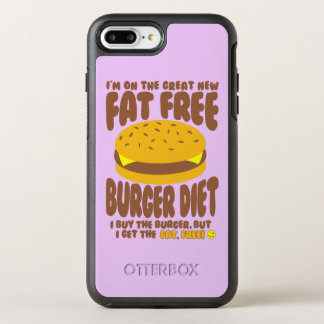 Fat Free Burger Diet OtterBox Symmetry iPhone 7 Plus Case