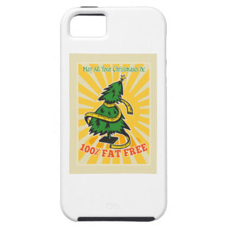 Fat Free Christmas Tree Tape Measure iPhone 5 Cover
