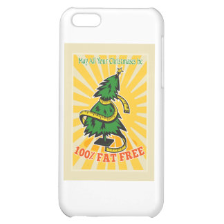 Fat Free Christmas Tree Tape Measure iPhone 5C Cases