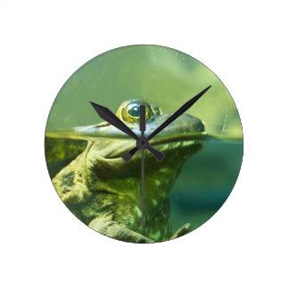 Fat Frog Wall Clock