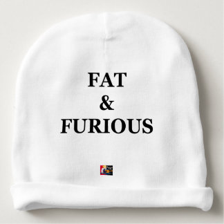FAT & FURIOUS - Word games - François City Baby Beanie