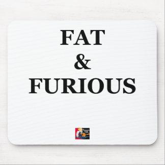 FAT & FURIOUS - Word games - François City Mouse Pad
