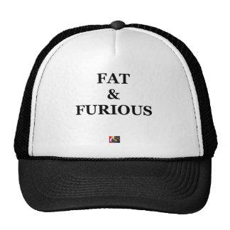 FAT & FURIOUS - Word games - François City Trucker Hat
