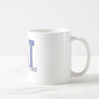 Fat Girls Do It Best - Blue Coffee Mug
