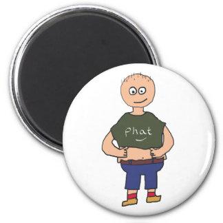 Fat Guy 2 Magnet