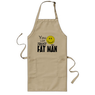 Fat Guys can cook Long Apron