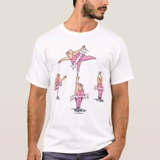 Fat Guys in Pink Tutus Ballet T-Shirt