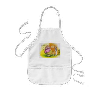 fat hippo golf kids' apron