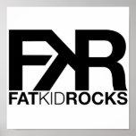 Fat Kid Rocks Poster