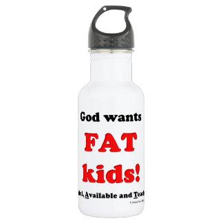 fat kids water bottle
